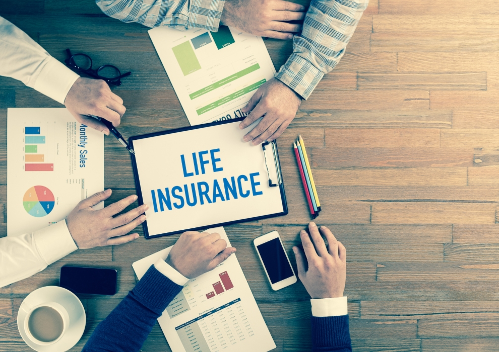 Protect your family with life insurance.